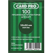 Фотография Протекторы Card Pro Perfect fit USA Std 58х88мм (100 шт.) [=city]
