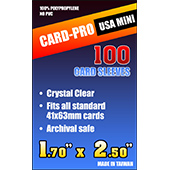 Фотография Протекторы Card-Pro USA Mini 41x63 мм (100 шт.) [=city]