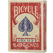 Фотография Карты для покера Faded Deck - Bicycle: Rider Back [=city]