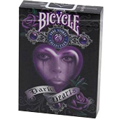 Фотография Карты Bicycle Dark Hearts [=city]